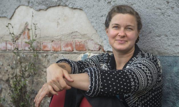 Ulrika Linder folkbildar om sopsortering